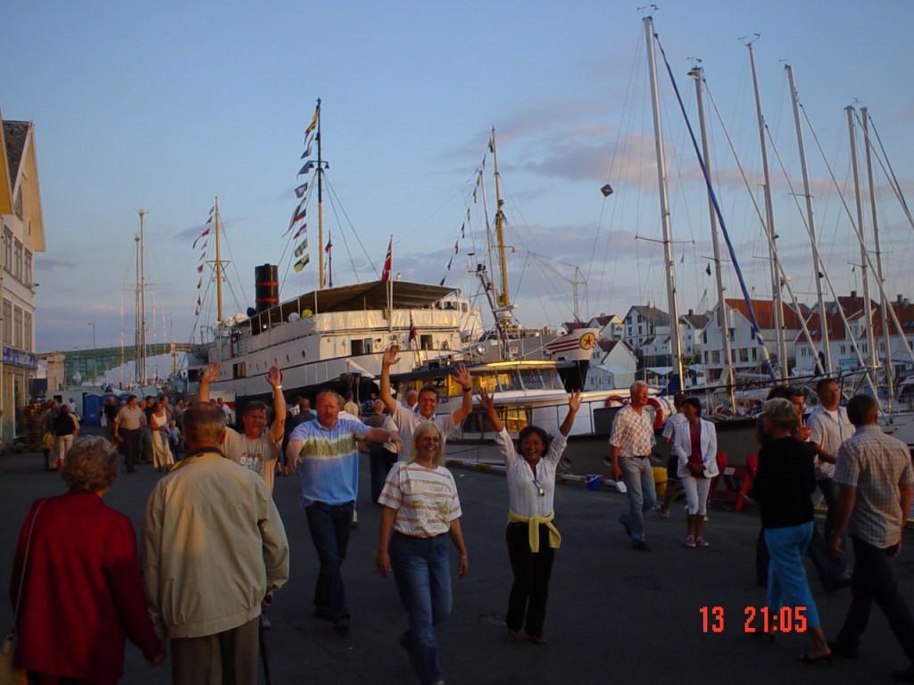 Gjengen på Sildajazz i Haugesund. Det ble Bacalao utpå kvelden