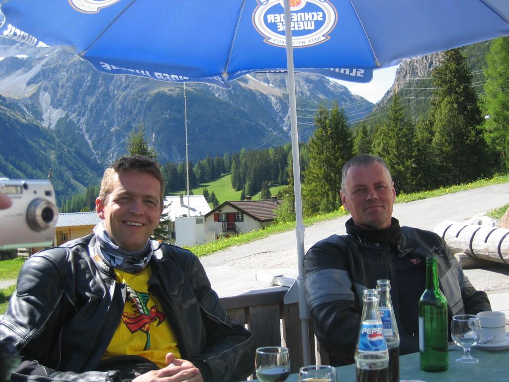 Kyrre Hagen og Morten Ravndal
