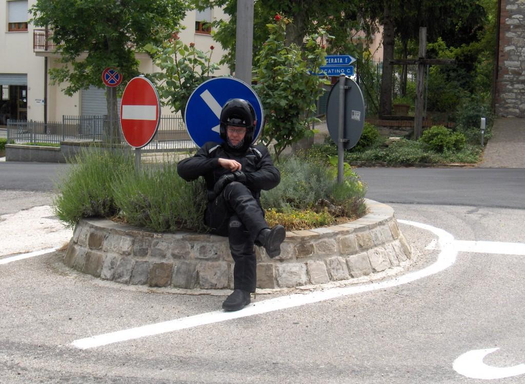 Bortkommen motorsyklist i Tascana. Jon Storheil....