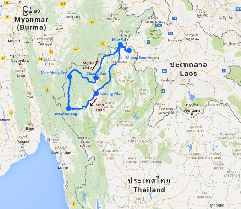 Kart Thailandstur