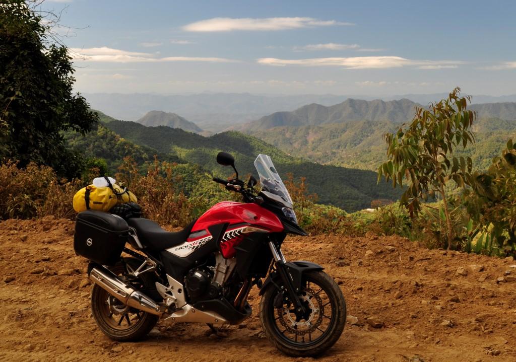 I de nordvestre områdene av Thailand er utsikten pustestoppende vakker.