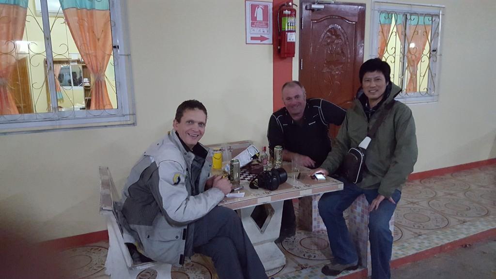 En kineser på ferie ville bli vår venn bade på fjasboka og ellers. Han greidde å lure en av oss, så kanskje det kan bli en fremtidig tur til Tibet.