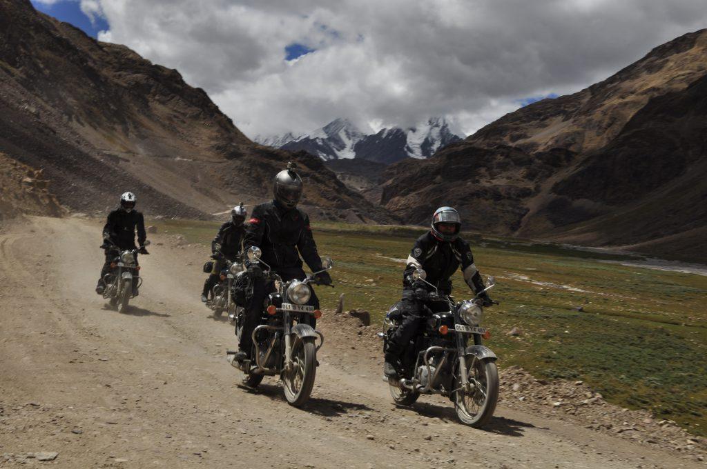 På vei mot vårt første fjellpasss Kunzum