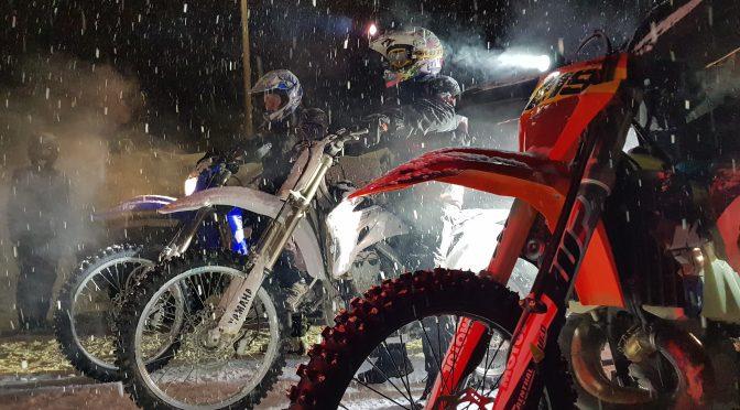 Rally Knuten, winter hillclimb