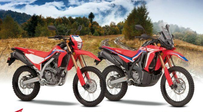 NYE Honda CRF 300 L og CRF 300 Rally.